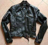 VERSACE leather jacket, biker, vintage, ORIGINAL, Medusa, Made in Italy