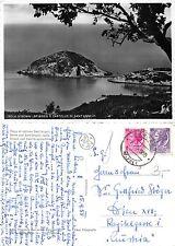 Isola d'Ischia - Spiaggia e Castello di Sant'Angelo ANNO 1955 (S-L XX493)