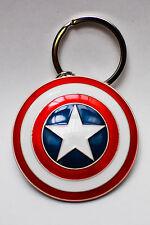 No Hot T.  Avengers MARVEL Metall Schild Captain America KEY HOLDER