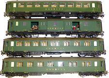 4x SBB CF RIC Wagon en acier Metropolitan 7010 7020 7030 7040 H0 1/87 KB4 å