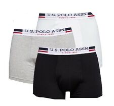 3 PACK BOXER INTIMO U.S.POLO ASSN ORIGINALE UOMO/MAN TG.M(48-50) IDEA REGALO-50%
