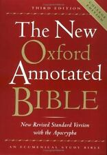 The New Oxford Annotated Bible, New Revised Standard Version with the Apocrypha