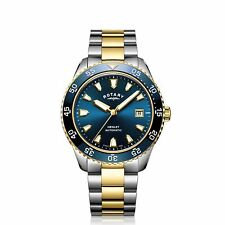 Rotary GB05131-05 Men's Henley Two Tone Automatic Wristwatch