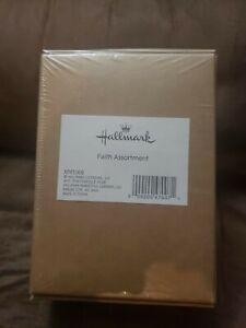 Hallmark Religious Boxed Christmas Cards Faith Assortment, Gold Foil