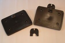 Ifor Williams Horse Trailer Black Interchangeable Number Plate Holder - New