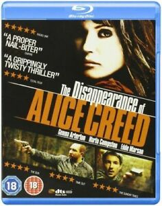The Disappearance Of Alice Creed DVD Region 2 UK_Thriller Mystery