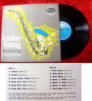 LP Lester Young Memorial Vol. 2 (1963) Oriole Records