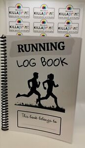 Personalised Name Running Log Book
