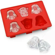 Silicone Star Wars Darth Vader Shape Ice Cube Tray Mold Cookies Chocolate Soap