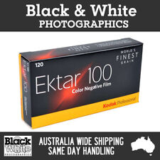 5 Rolls Kodak Ektar 100 120 Colour film - Australian Stock