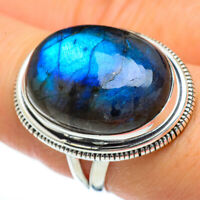 Large Labradorite 925 Sterling Silver Ring Size 8 Ana Co Jewelry R45462F
