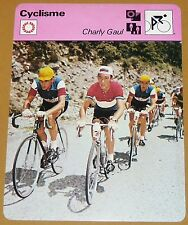 CYCLISME CICLISMO CHARLY GAUL LUXEMBOURG TOUR FRANCE GIRO