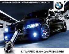 """KIT IMPIANTO XENON H7 BIANCO GHIACCIO SPECIFICO """"BMW X1 (E84)"""" NO ERRORI"""