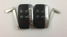 LOT OF 2 LAND ROVER RANGE ROVER SPORT 10-16 OEM SMART KEY LESS ENTRY UNCUT FOB