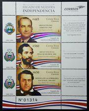 Costa Rica Stamps Legado de Independencia 2019 MNH- Independence ***NEW***