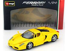 BBURAGO 18-26006 FERRARI ENZO 1/24 DIECAST MODEL CAR YELLOW