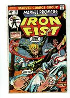 Marvel Premiere #15, GD 2.0, 1st Appearance Iron Fist; Marvel Value Stamp