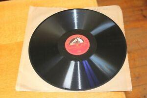 "Chopin Arthur Rubinstein Scherzo No. 2 In B Flat Minor HMV DB1916 12"" Shellac 78"