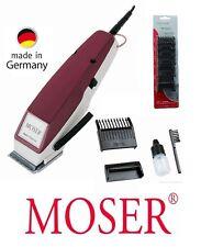 Moser Haarschneider EDITION 1400 bordeaux +6 Aufsätze Haarschneidemaschine 42101