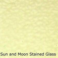Wissmach Stained Glass Sheet Em195 - Pale Yellow Green English Muffle