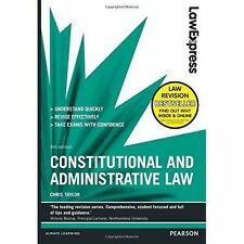 Law Express: Constitutional and Administrative Law: Revision Guide by Chris...