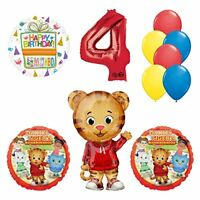 Daniel Tiger Neighborhood 4th Birthday Party Supplies and Balloon Decorations