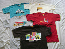 5 Enjoi Skateboard Panda Logo T-shirts Size Small New