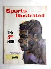 1961 MARCH 13 SPORTS ILLUSTRATED FLOYD PATTERSON THE 3RD FIGHT BOXING CHAMPION