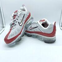 Nike Air Vapormax 360 Vast Grey White Red CK2718-002 Men's Running Shoes 9.5 10