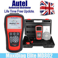 Autel MaxiDiag Elite MD802 ALL System Scanner+ DS Model OBDII Car Reader MD805