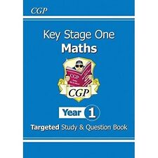 KS1 Maths Targeted Study & Question Book - Year 1 by CGP Books (Paperback, 2014)