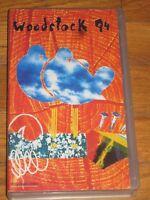 Vhs WOODSTOCK 94 - Polygram Video 1994 Joe Cocker Metallica Zucchero Bob Dylan