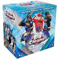 Topps 2020 Chrome Update Sapphire Edition Baseball Hobby Box - 32 Cards