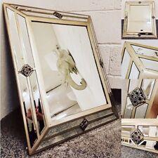 Venetian Pin Detailed Wall Hanging Mirror