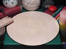 CIRCLE Shape Craft Blank Disc 24.1cm BIRCH Wood Decoration Embellishment Tag