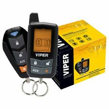 Viper 5305V 2-Way LCD Car Alarm Start System - Black New