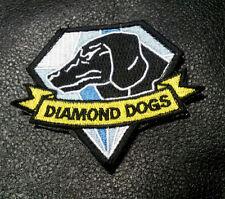 METAL GEAR SOLID DIAMOND DOGS HOOK LOOP TACTICAL PATCH