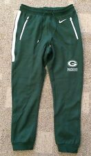 Mens Size Medium M Nike NFL Team Apparel Green Bay Packers Athletic Sweat Pants