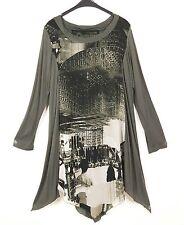 LA MOUETTE Kleid Dress Robe Vestido Tunika Tunic L 44 46 Lagenlook