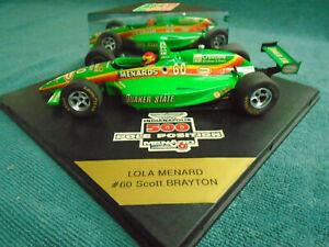 VINTAGE TEAM MENARD - SCOTT BRAYTON #60 INDY CAR - LOLA MENARD 1995