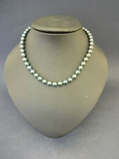 C1960s Faux Tahitian Pearl Necklace: Drop Approx 18.5cm