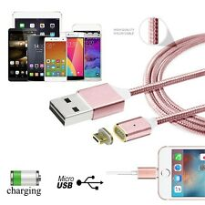 2.4A Micro USB Charging Cable Magnetic Adapter Charger for Samsung Android LG