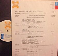 RADIO SHOW: 9/2/88 THREE DOG NIGHT TRIBUTE w/ 4 DANNY HUTTON INTERVIEWS,14 TUNES