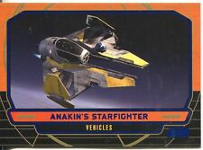 Star Wars Galactic Files Blue Parallel #257 Anakin's Starfighter