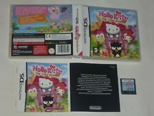Jeu HELLO KITTY BIG CITY DREAMS Nintendo DS DSi 2DS 3DS PAL VF FRA Complet TBE
