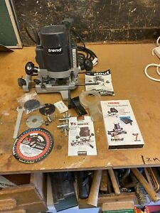 Trend Router T5 Variable Speed Quarter Inch Collett