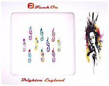 10 X DIAMANTE INDIAN BRIDAL BINDI CRYSTAL TIKKA HEAD FESTIVAL BRIDAL GEMS D20