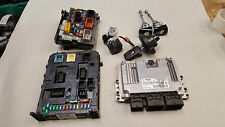 2011 Peugeot 308 1.6 gasolina 5FW Motor ECU BSI Kit Set 9666934280 966405878002