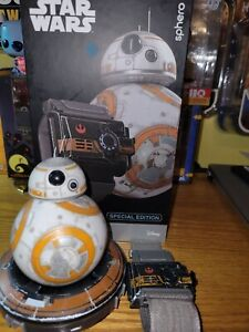 Star Wars Sphero BB-8 Battle Worn BB8 Force Band Watch Toy Special Edition Silve