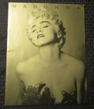 1987 MADONNA Who's That Girl Tour Program FVF Japanese